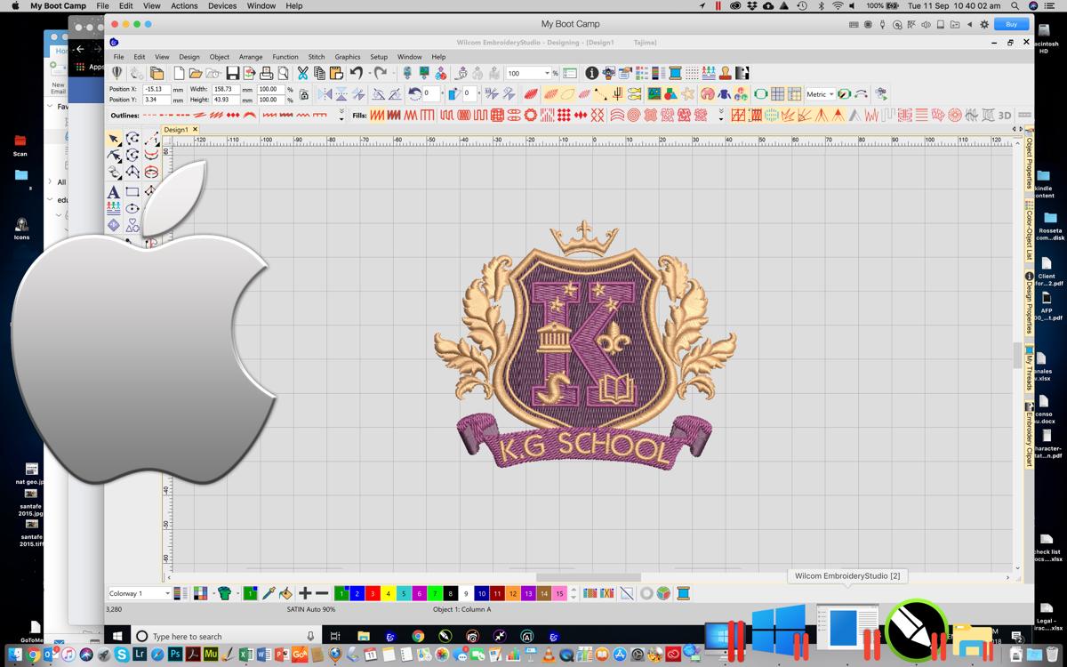 Installing Wilcom Embroiderystudio On A Mac Wilcom Product Blog