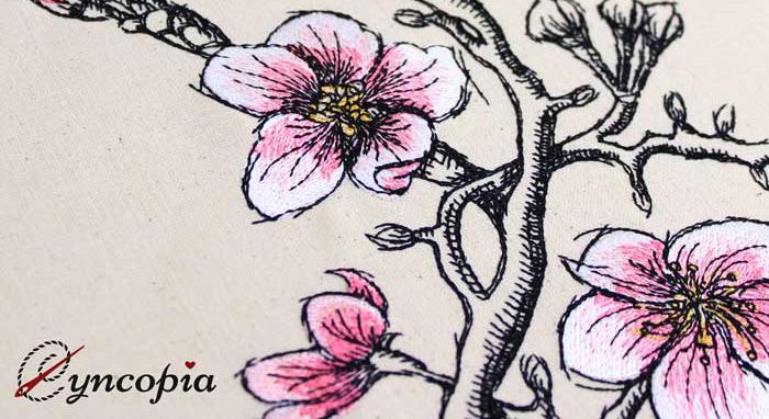 Wilcom EmbroideryStudio freehand - Cyncopia