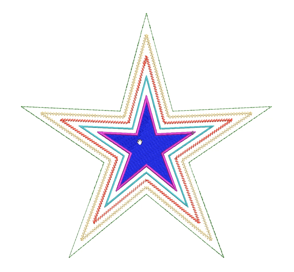 Large stars with offsets