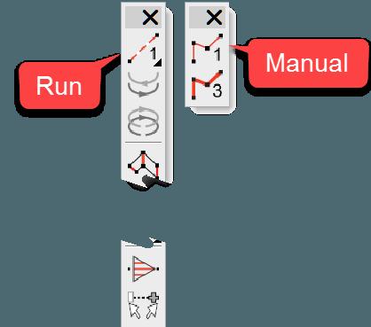 Run and Manual Tools