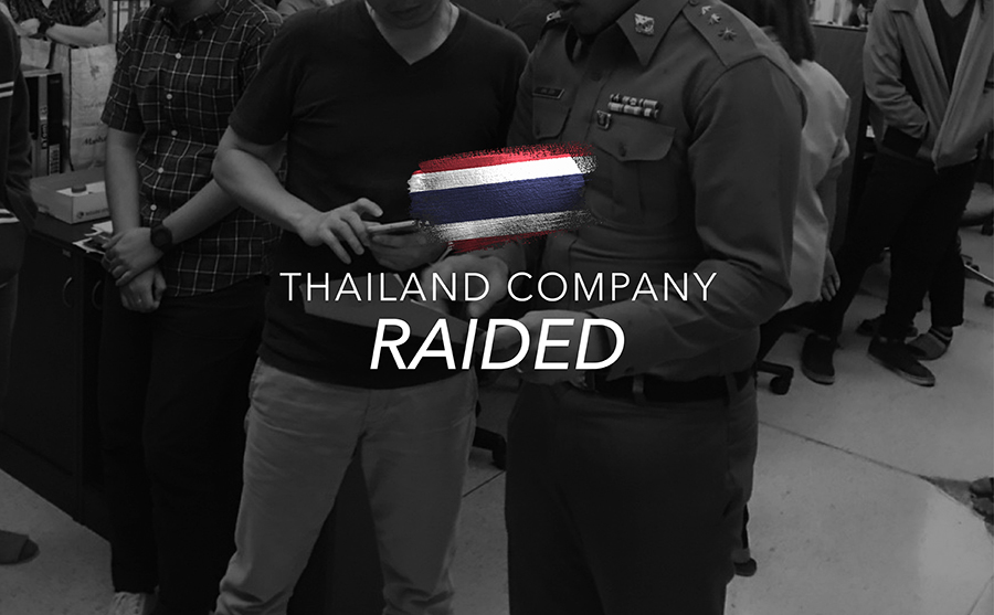 Thailand Company Raided