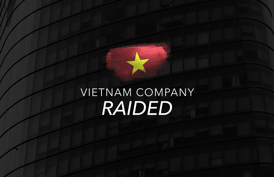 First raid in Vietnam