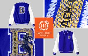 Hand Stitch Effect