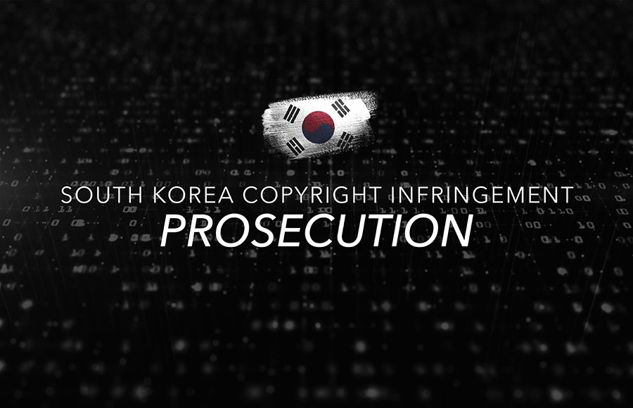 South Korea Copyright Infringement Prosecution