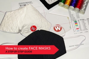 How to create face masks using your idle embroidery machines