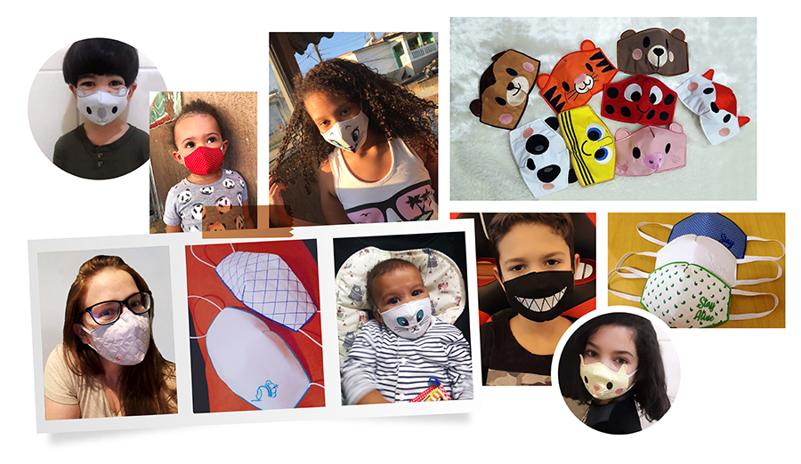 Protective Face Masks for children