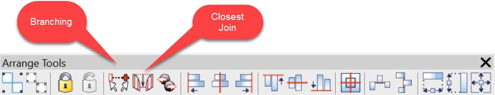Arrange Toolbar
