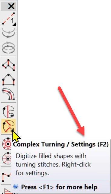 F2 Complex Turning
