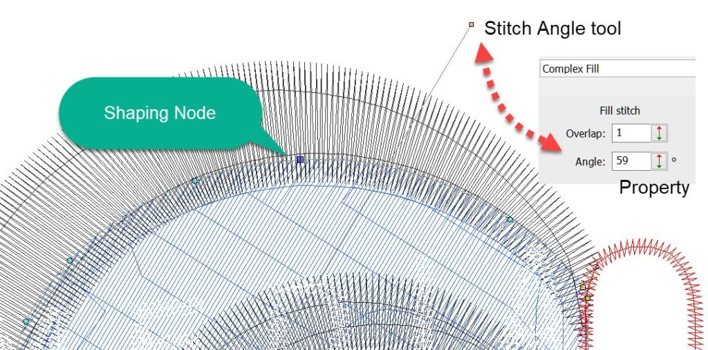 Stitch-Angle and shaping