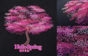 Reef Photo Stitch - Cherry Blossom