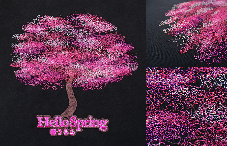 Reef Photo Stitch - Cherry Blossom