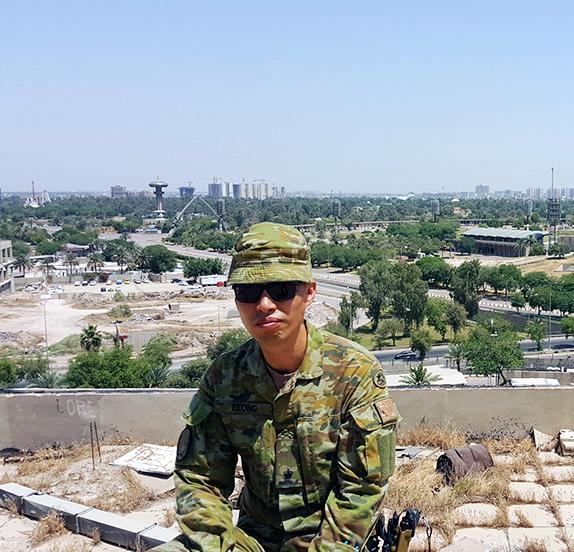 Major Andrew Leong