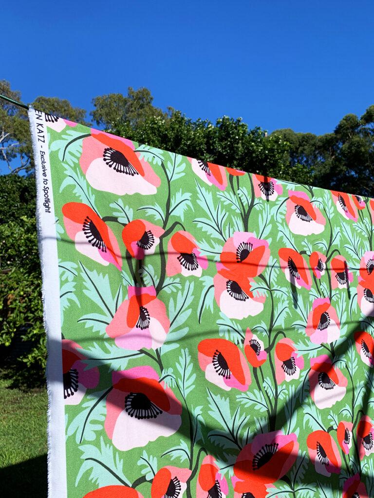 poppy flower design
