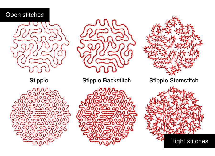 Stippling Effects