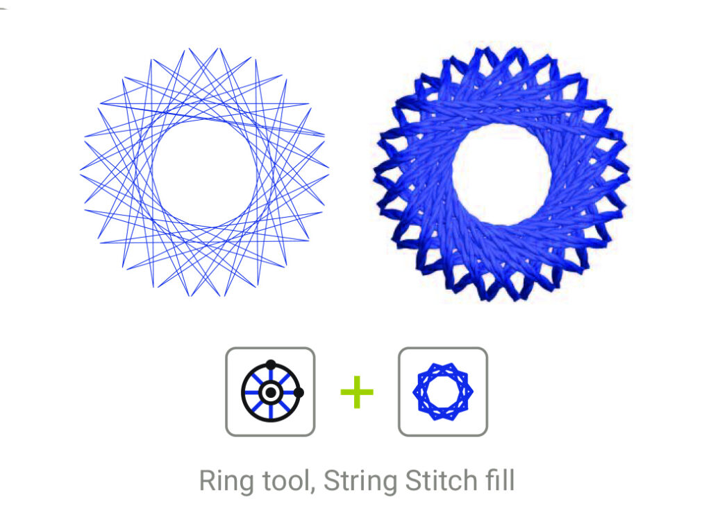 String Stitch Fill