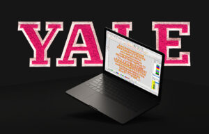 YALE Faux Chenille Font 159 characters